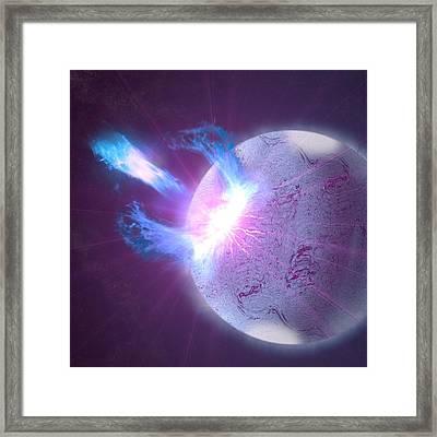 Sgr J1550 5418 Soft Gamma Ray Repeater Sgr Gamma Radiation 98514 2732x2732 Framed Print