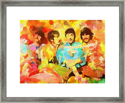 Sgt. Peppers Lonely Hearts Framed Print by Dan Sproul