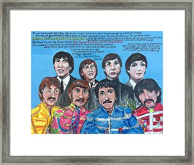 Sgt.pepper's Lonely Hearts Club Band Framed Print