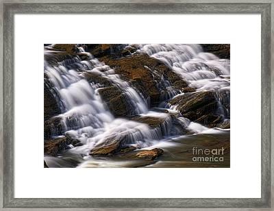 Shacktown Falls Framed Print by Patrick M Lynch