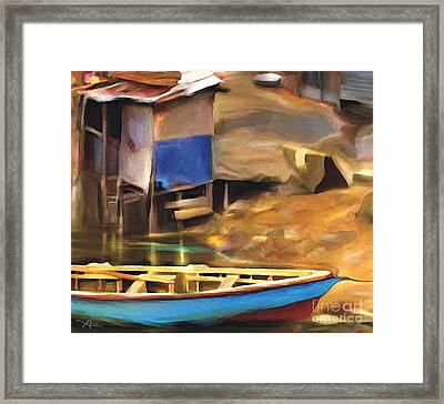 Shada District Framed Print by Bob Salo