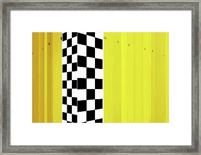 Framed Print featuring the photograph Shade And Sunshine by Nikolyn McDonald