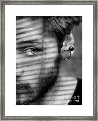 Shade Framed Print