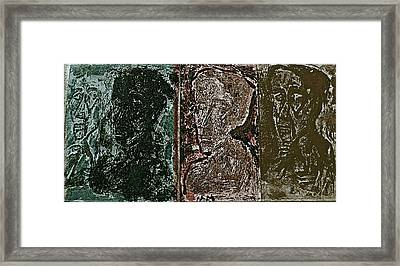 Shade Framed Print by Noredin Morgan