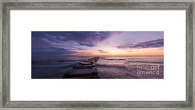 Shade Of Morning Framed Print by Andrew Slater
