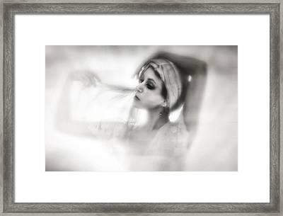 Shade Framed Print by Spokenin RED