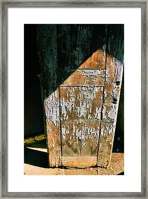 Shaded Entry Framed Print by JAMART Photography