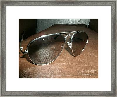 Shaded Reflection Framed Print by Andrew Walters