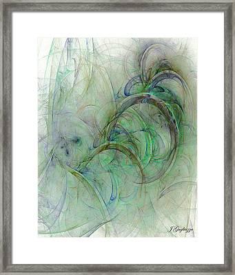 Shades Framed Print by Jean Gugliuzza