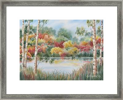 Shades Of Autumn Framed Print by Deborah Ronglien
