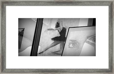 Shades Of Black Framed Print