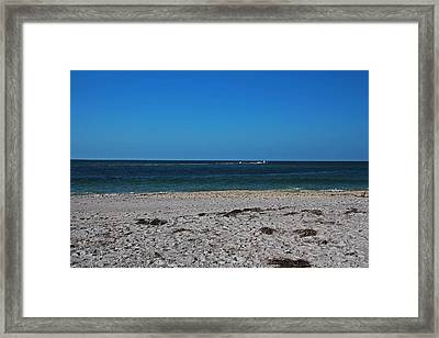 Framed Print featuring the photograph Shades Of Blue by Michiale Schneider