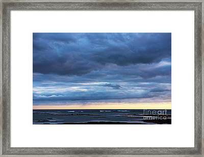 Framed Print featuring the photograph Shades Of Blue.. by Nina Stavlund