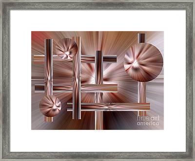 Shades Of Coffee Framed Print