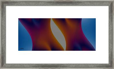 Shades Of Colour Framed Print by James Barnes