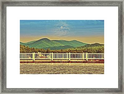 Shades Of Evening Framed Print by Susan Leggett