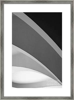 Shades Of Grey Framed Print by Hideaki Sakurai