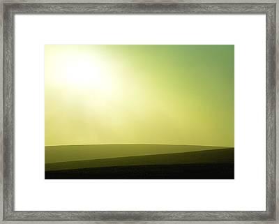 Shades Of Light Framed Print by Todd Klassy