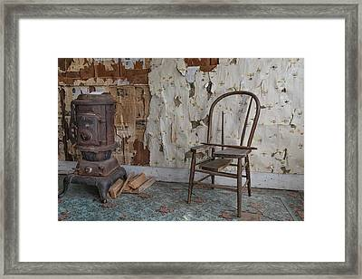 Shades Of Past Warmth Framed Print by Leland D Howard