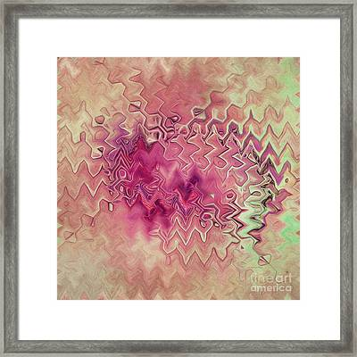 Shades Of Pink Framed Print by Deborah Benoit