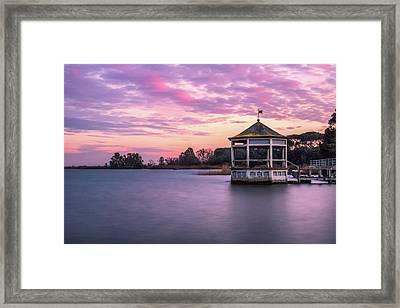 Shades Of Pink Light Framed Print