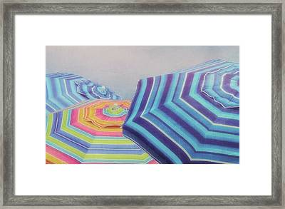 Shades Of Summer Framed Print