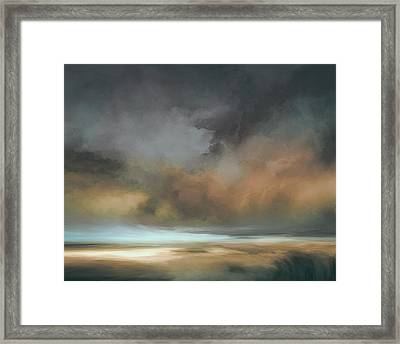 Shades Of Twilight Framed Print