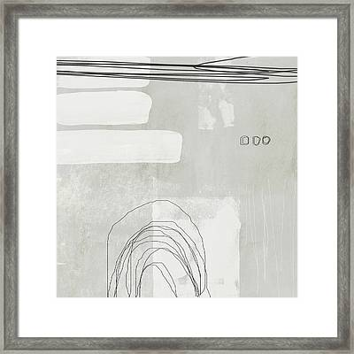 Shades Of White 2 - Art By Linda Woods Framed Print by Linda Woods