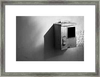 Shadow Box 2006 1 Of 1 Framed Print