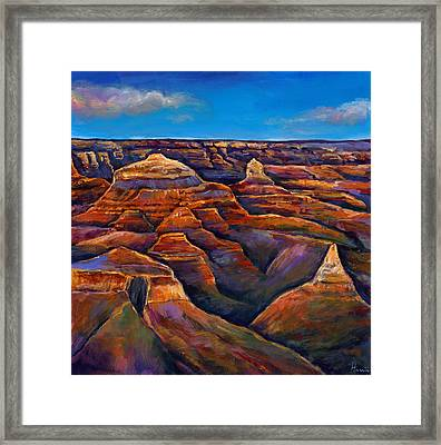 Shadow Canyon Framed Print