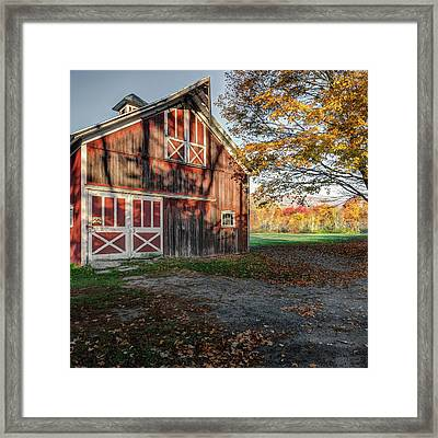 Shadow Catcher Square Framed Print by Bill Wakeley