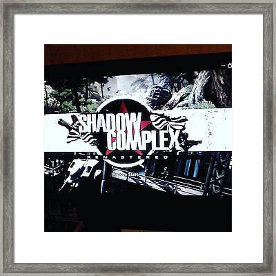 shadow Complex Is Free This Month Framed Print