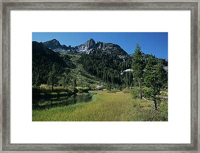 Shadow Creek - Mount Ritter And Reflections Framed Print