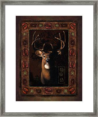 Shadow Deer Framed Print by JQ Licensing