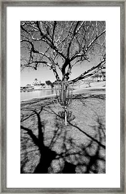 Shadow Game Framed Print by Rich Mann