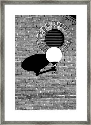 Shadow Lamp 2 Framed Print by Jez C Self