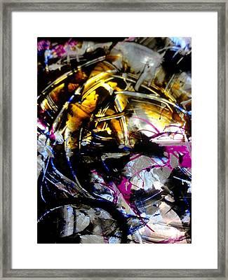 Shadow Light Framed Print by Karen Lillard