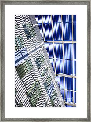 Shadow Lines Framed Print