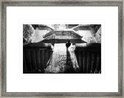 Shadow Man Framed Print by Marco Hietberg