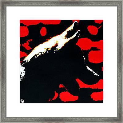 Shadow Framed Print by Maz