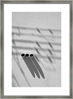 Shadow Notes 2006 1 0f 1 Framed Print
