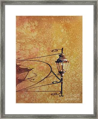 Shadow Of Light Framed Print by Ryan Fox