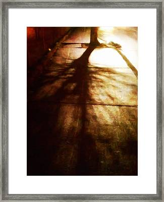 Shadow Of No Doubt Framed Print