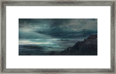 Shadow Over Innsmouth Framed Print by Guillem H Pongiluppi