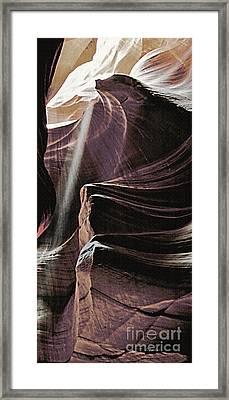 Shadow Panel 15 Framed Print by Linda Parker