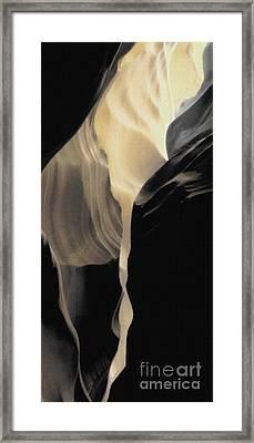 Shadow Panel 2 Framed Print by Linda Parker