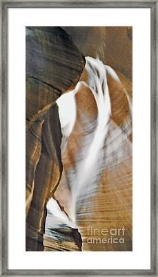 Shadow Panel 7 Framed Print by Linda Parker