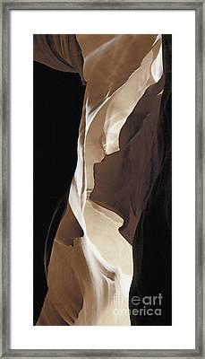 Shadow Panel 8 Framed Print by Linda Parker