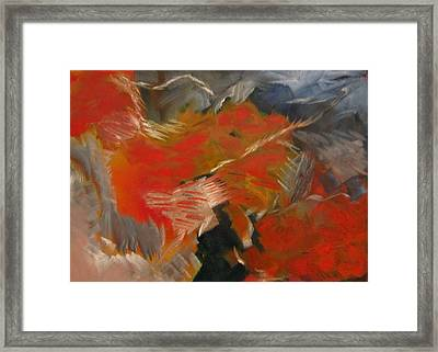 Framed Print featuring the painting Shadow by Patricia Cleasby