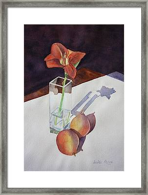 Shadow Play Framed Print by Bobbi Price